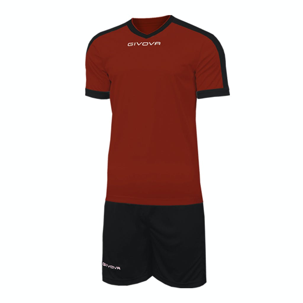 Kit Revolution Vinröd/Svart