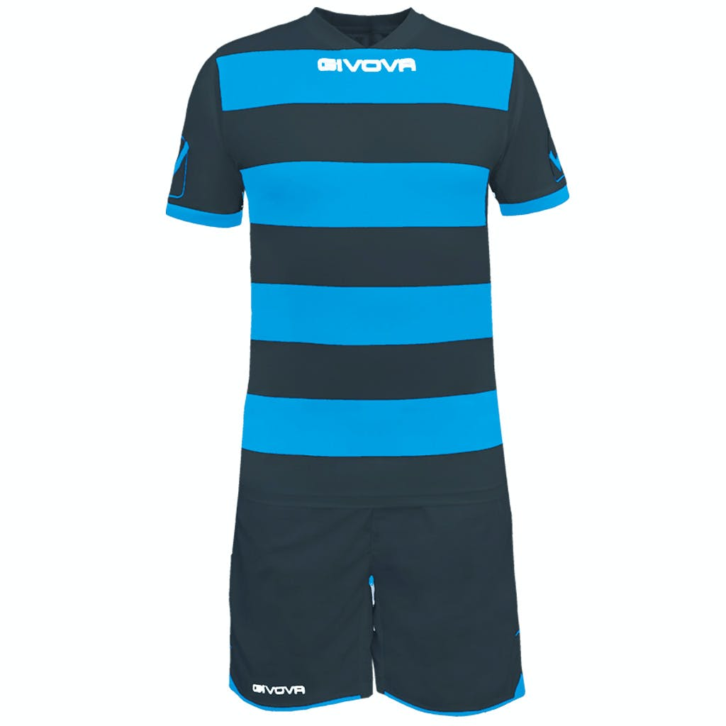 Kit Rugby Grå/Turkos