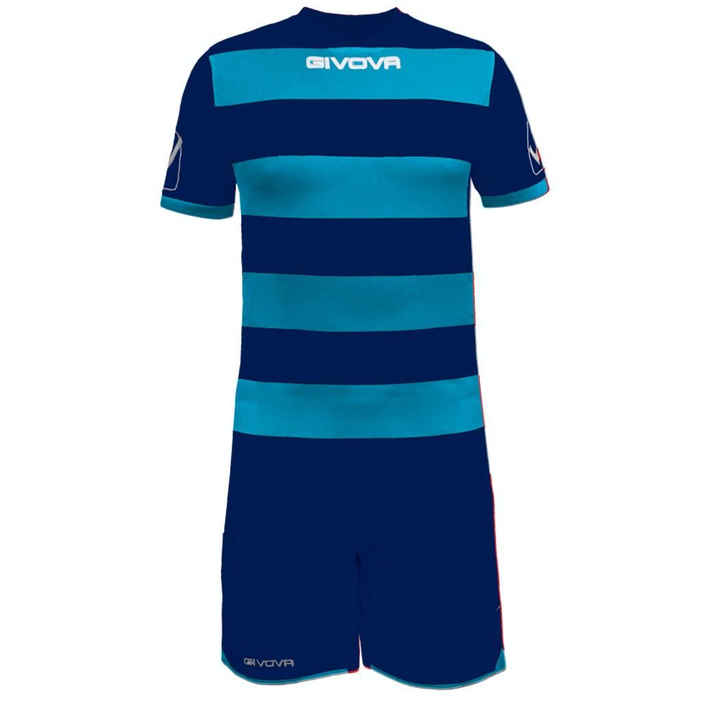 Kit Rugby Mörkblå/Turkos