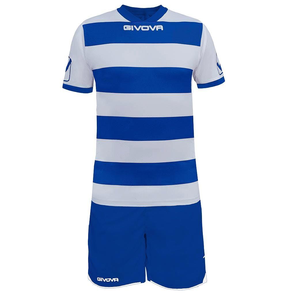 Kit Rugby Vit/Blå