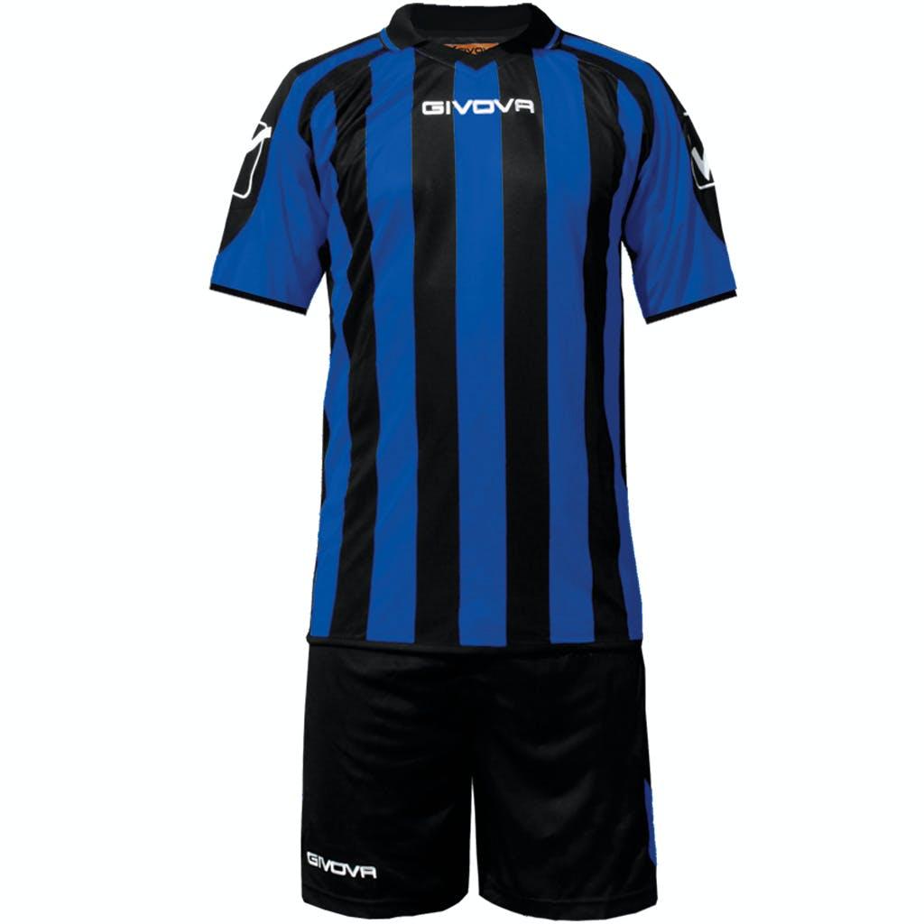 Kit Supporter Svart/Blå