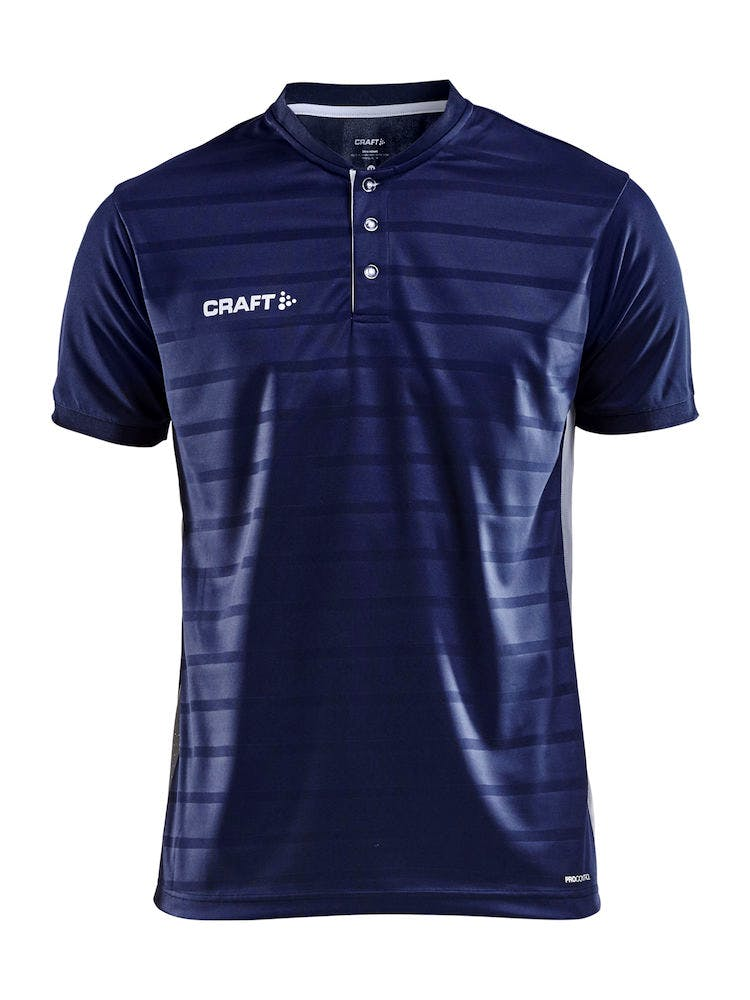 Pro Control Button Jersey M Navy