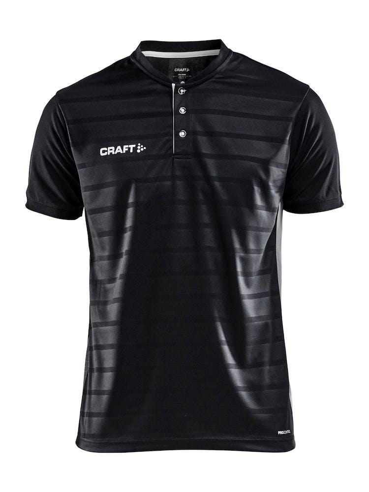 Pro Control Button Jersey M Svart