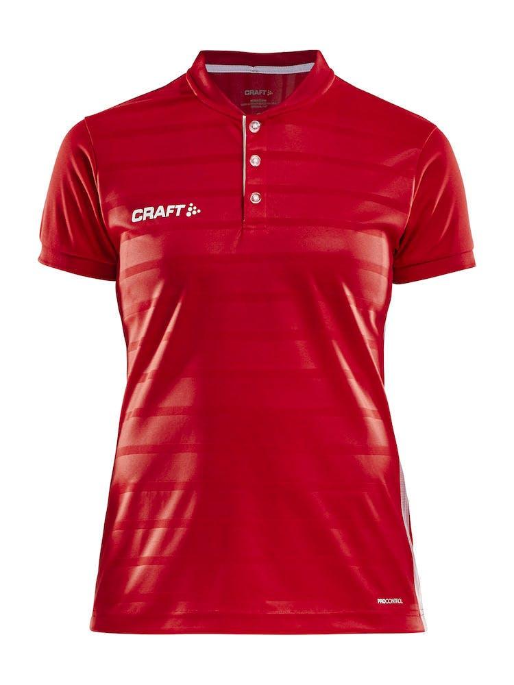 Pro Control Button Jersey W Röd