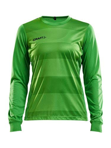 Progress Gk Ls Jersey Wmn Craft Green