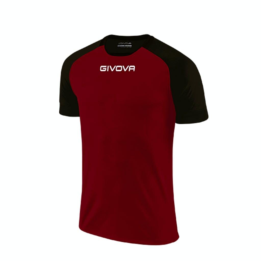 Shirt Capo Vinröd/Svart