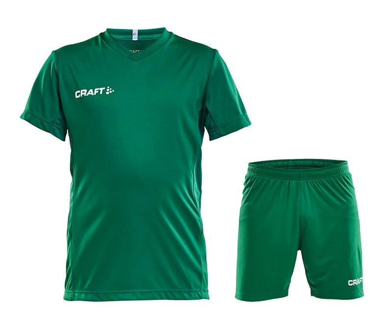 Squad Jersey Kit Jr Grön