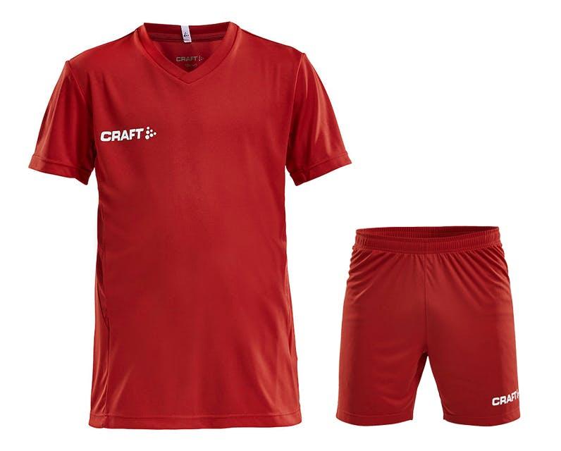 Squad Jersey Kit Jr Röd