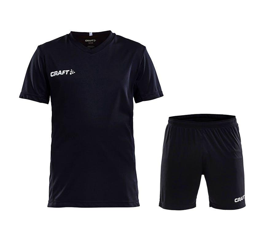 Squad Jersey Kit Jr Svart