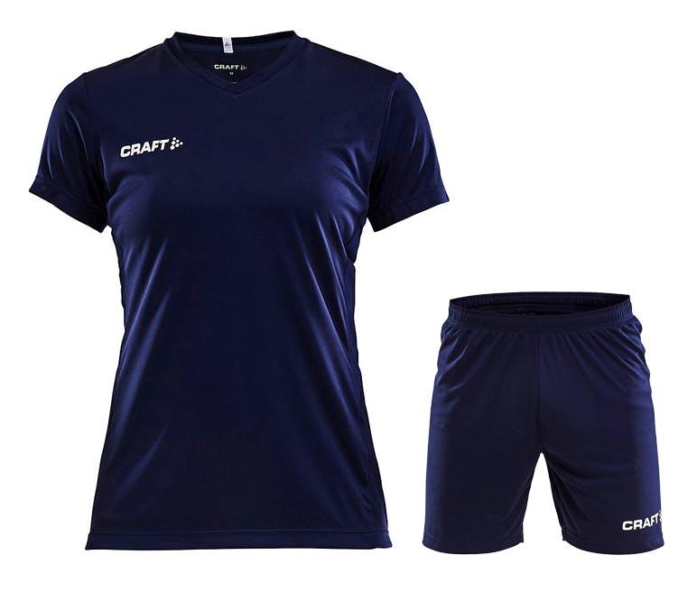 Squad Jersey Kit Women Marinblå