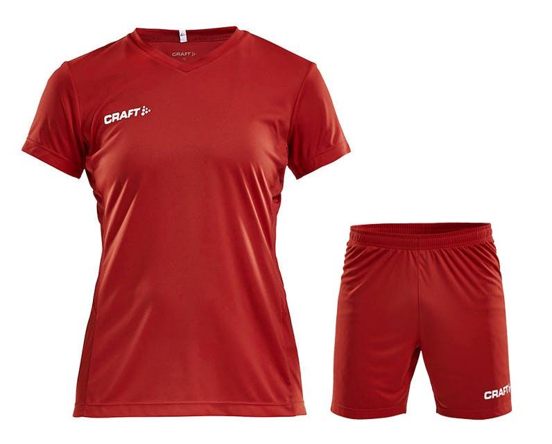 Squad Jersey Kit Women Röd
