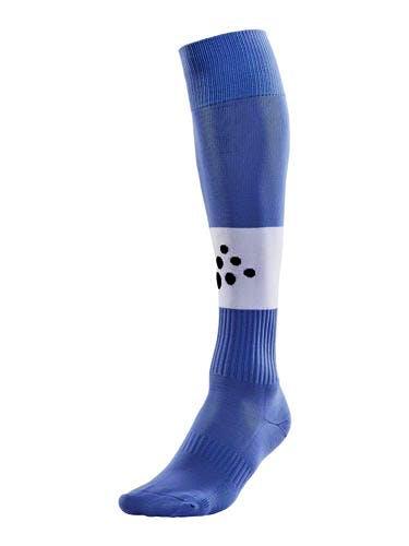 SQUAD Sock Contrast Ljusblå/Vit