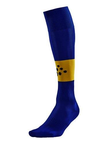 SQUAD Sock Contrast Mörkblå/Gul