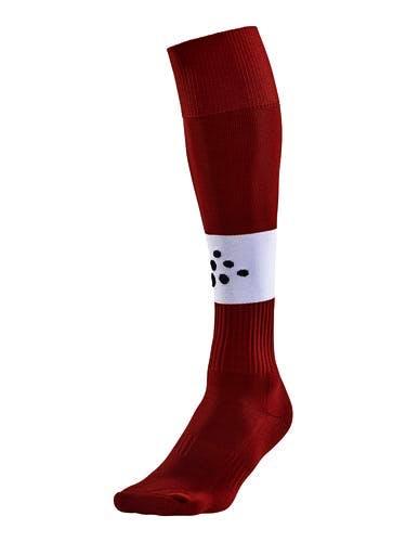 SQUAD Sock Contrast Röd/Vit