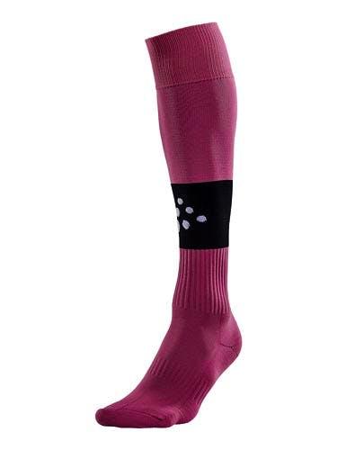 SQUAD Sock Contrast Rosa/Svart