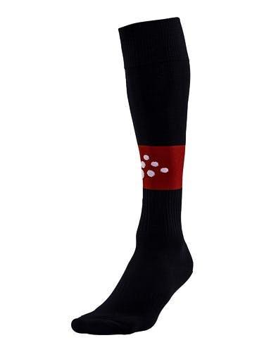 SQUAD Sock Contrast Svart/Röd