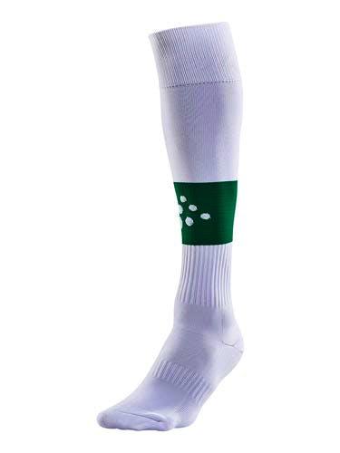 SQUAD Sock Contrast Vit/Grön