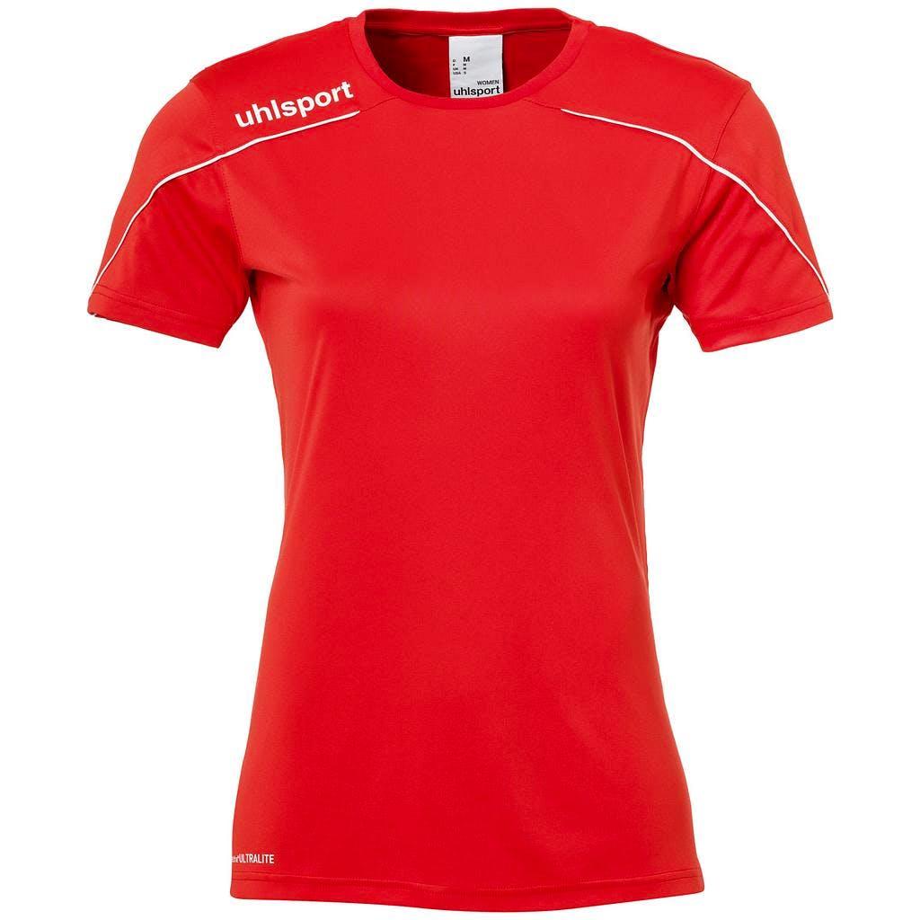 Stream 22 Shirt SS Dam Röd