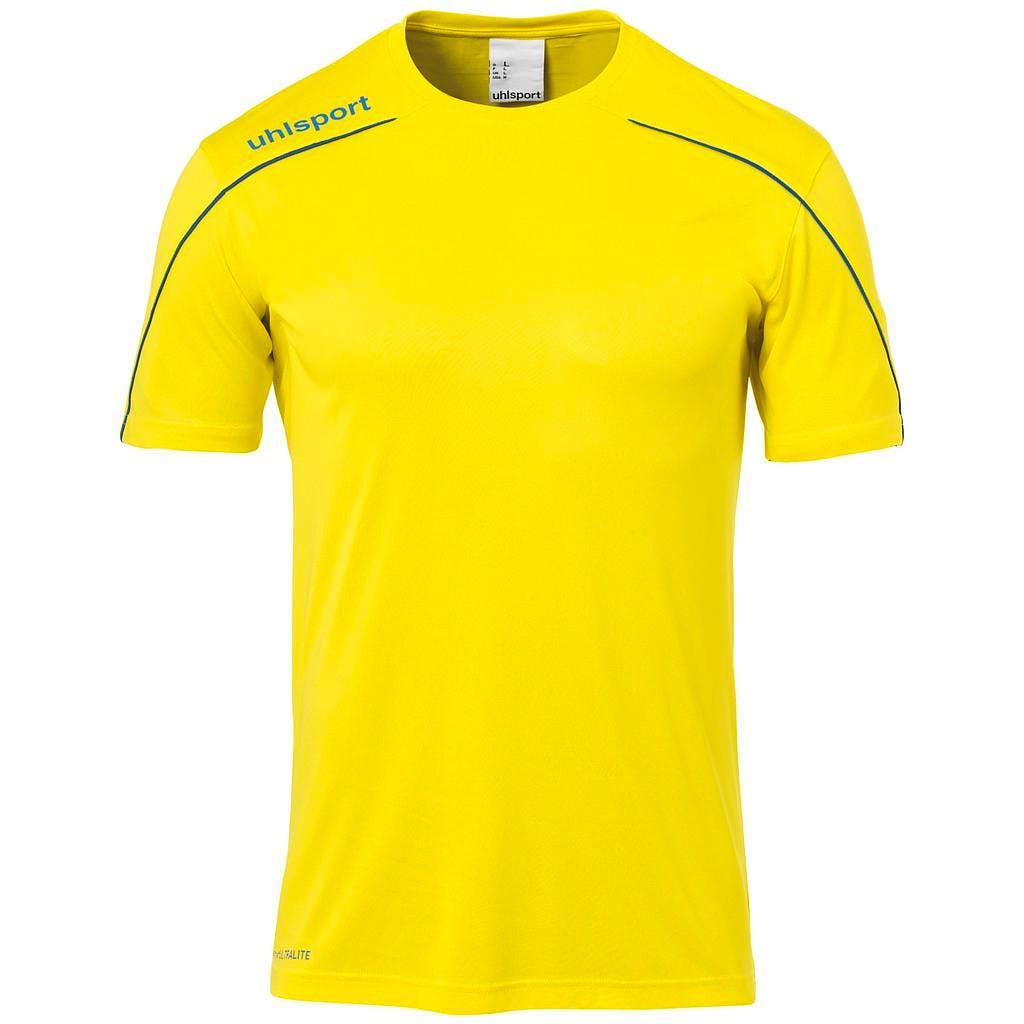 Stream 22 Shirt SS Herr Gul/Blå