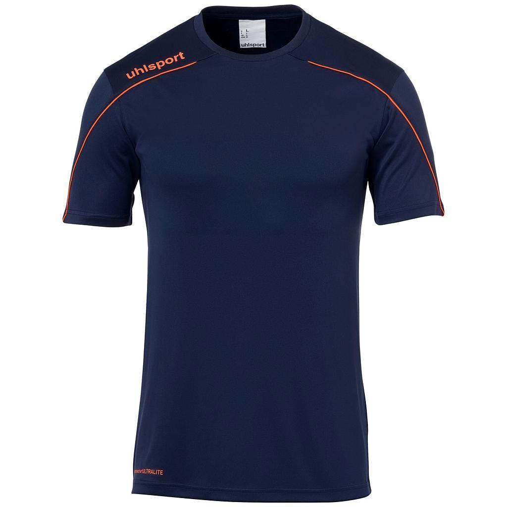 Stream 22 Shirt SS Herr Marinblå/Orange