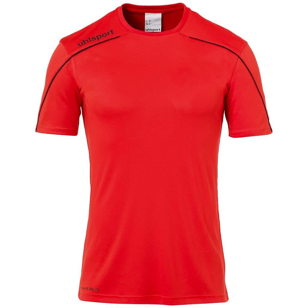 Stream 22 Shirt SS Herr Röd/Svart
