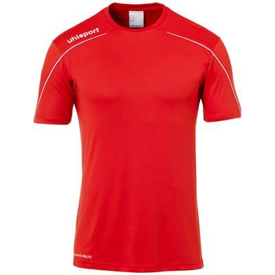 Stream 22 Shirt SS Herr Röd/vit