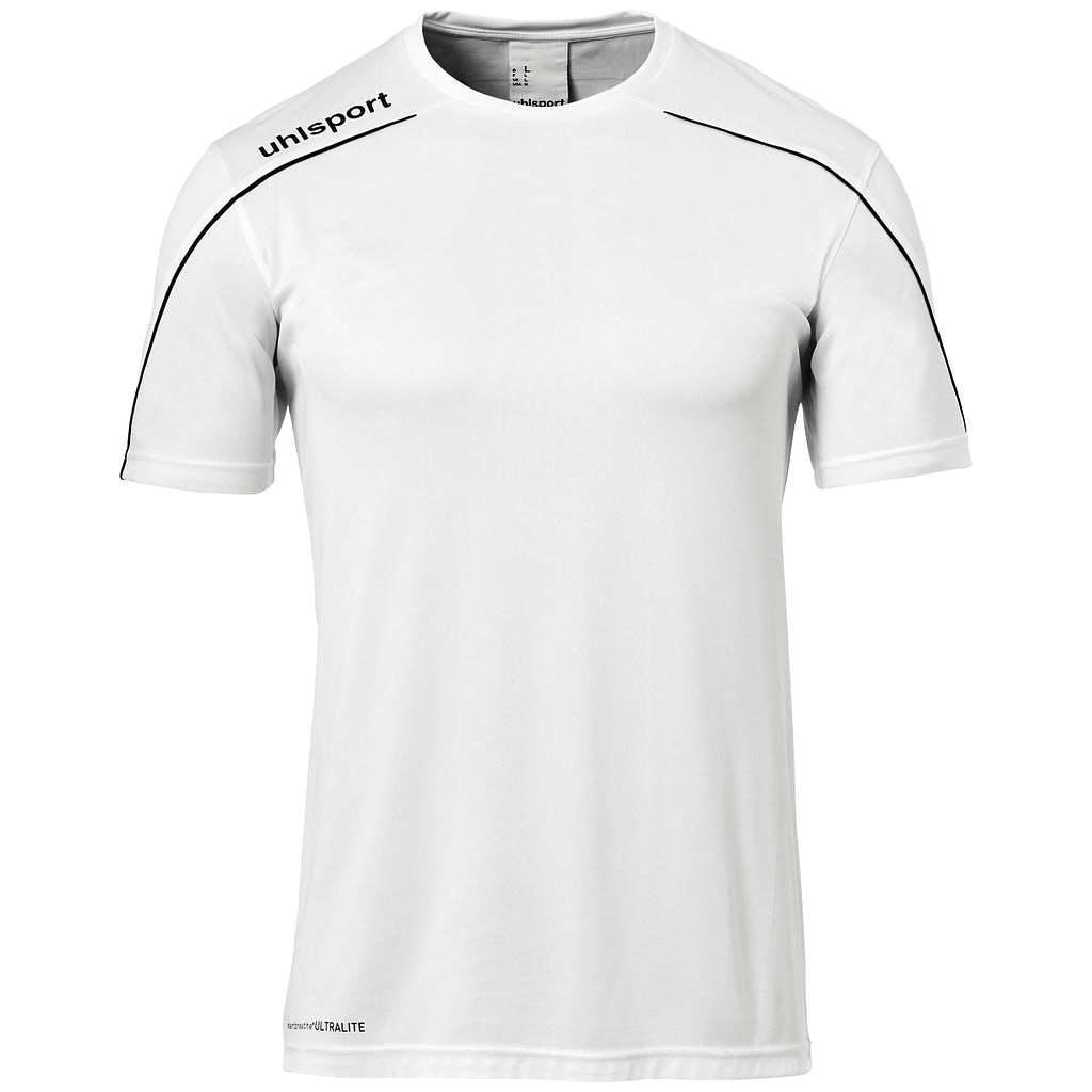 Stream 22 Shirt SS Herr Vit/Svart