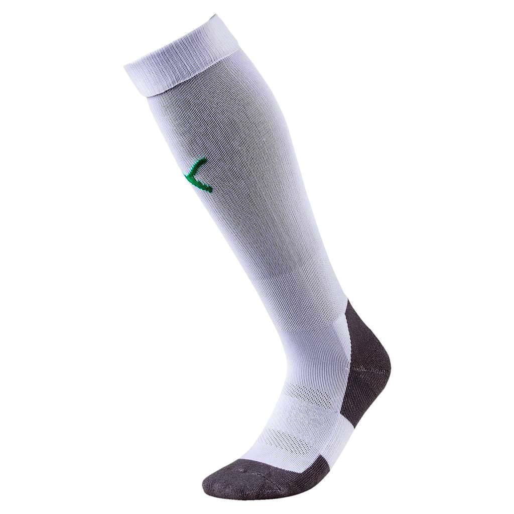Team Liga Socks Core Vit/Grön