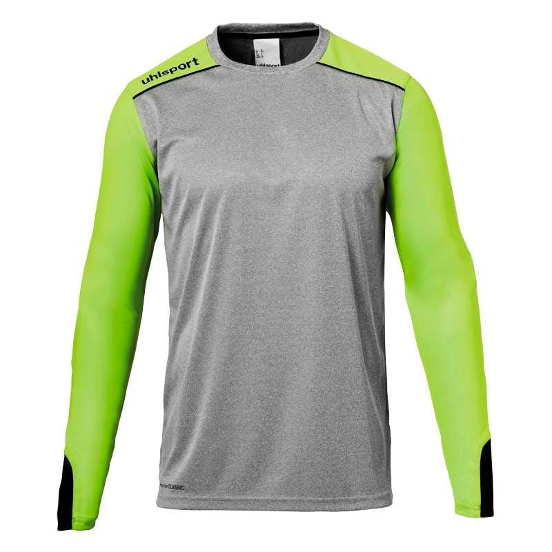 Tower GK Shirt (lång ärm) Gråmelange/Grön Herr/Dam